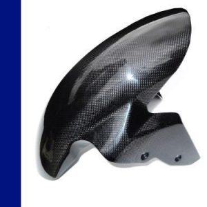 BMW S1000RR/S1000R/XR CARBON FRONT MUDGUARD BY FULLSIX IN TWILL GLOSS WEAVE