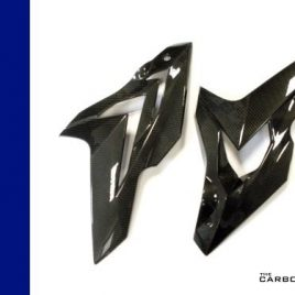 BMW S1000RR 2014-16 CARBON UPPER SIDE FAIRINGS IN TWILL WEAVE
