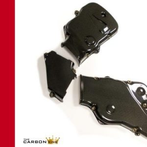DUCATI 749/999 CARBON CAMBELT COVERS IN PLAIN WEAVE (SEE DESCRIPTION)