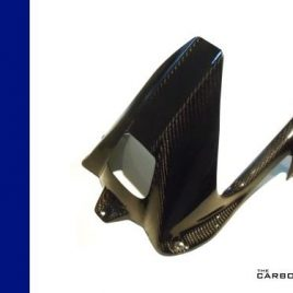 BMW S1000RR/S1000R CARBON FIBRE REAR HUGGER/CHAIN GUARD IN TWILL WEAVE