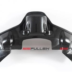 DUCATI 899/959/1199/1299 CARBON KEYGUARD BY FULLSIX IN PLAIN GLOSS WEAVE