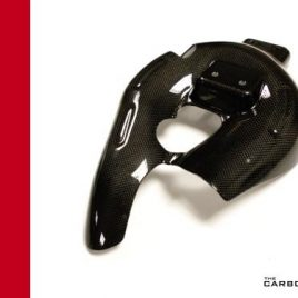 REPLACEMENT CARBON EXHAUST HEAT SHIELD FOR DUCATI PANIGALE 899/1199 WITH AKRAPOVIC EXHAUST FITTED