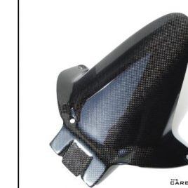 HONDA CBR600RR 2007-17 CARBON REAR MUDGUARD (2NDS) IN PLAIN GLOSS WEAVE