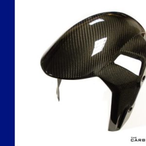 BMW S1000RR 2019 ON CARBON FRONT MUDGUARD IN TWILL WEAVE