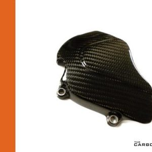APRILIA RSVR/TUONO 2004-10 CARBON SPROCKET COVER IN TWILL WEAVE