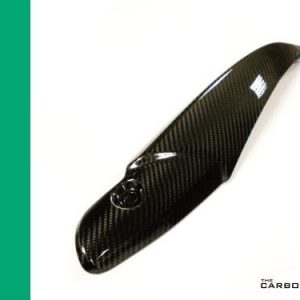TRIUMPH SPEED TRIPLE RS 2016 ON CARBON EXHAUST HEAT SHIELD IN TWILL WEAVE