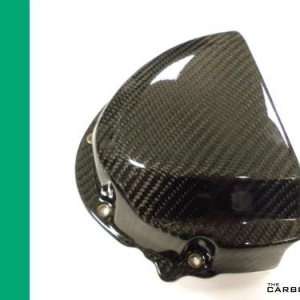TRIUMPH SPEED TRIPLE 1050 2011-15 CARBON SPROCKET COVER IN TWILL WEAVE